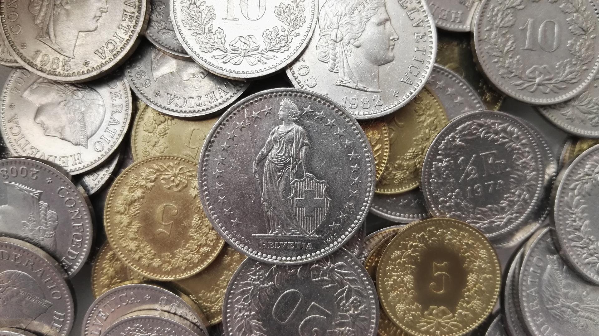 pièce francs suisse