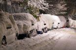 de la neige sur mon auto