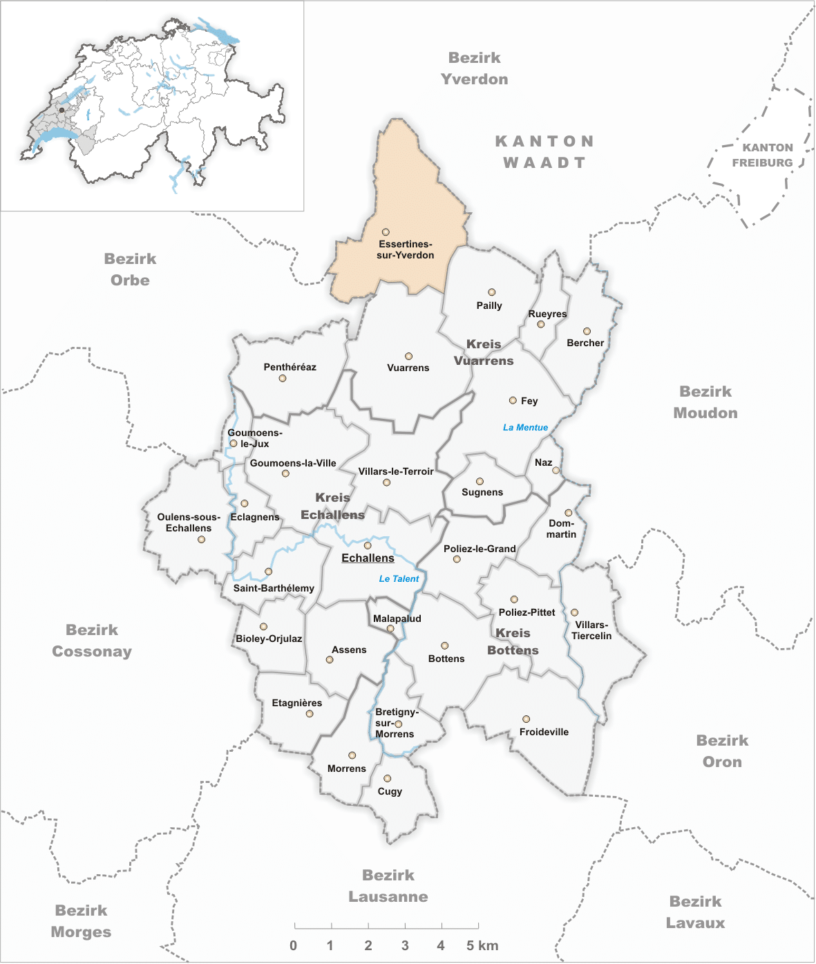 Essertines-sur-Yverdon