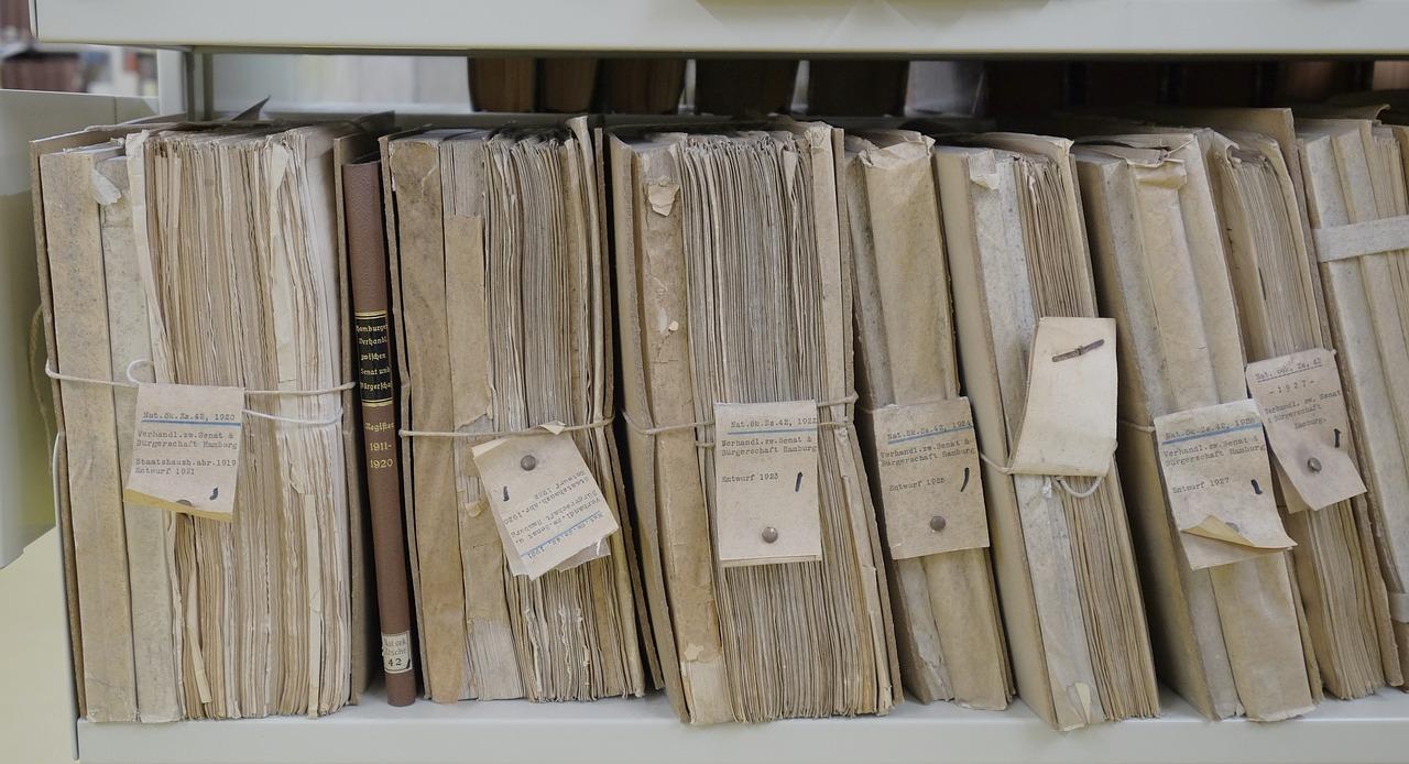 Des documents fiscaux congelés pour être sauvés