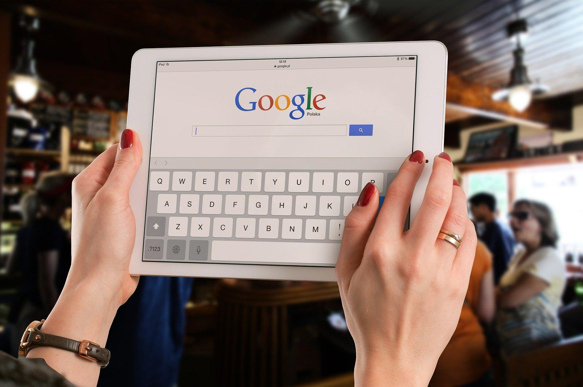 google poste travail